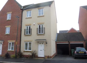 Thumbnail 4 bed town house for sale in Dixon Close, Redditch