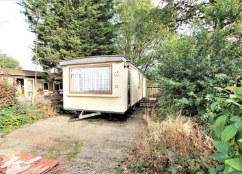 Thumbnail 1 bedroom mobile/park home for sale in Sunset Drive, Havering-Atte-Bower, Romford