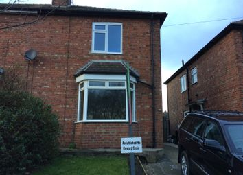 Thumbnail 2 bed semi-detached house to rent in Stockton Road, Darlington