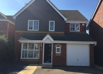 Thumbnail 4 bedroom detached house for sale in Aintree Drive, Rushden