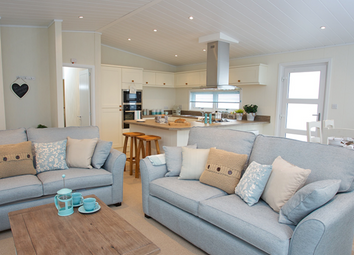 Thumbnail 2 bed lodge for sale in London Road, Kessingland, Lowestoft