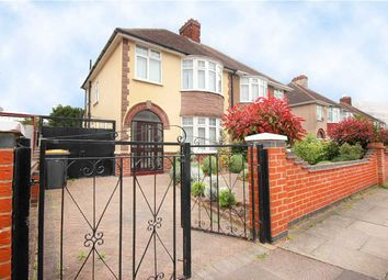 Thumbnail 3 bed semi-detached house to rent in Brackley Road, Elstow, Bedford