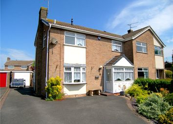 Thumbnail 3 bedroom semi-detached house for sale in Rosier Crescent, Swanwick, Alfreton