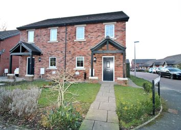 Thumbnail 2 bed semi-detached house for sale in Stainton Gardens, Etterby, Carlisle