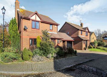 Thumbnail 3 bed detached house for sale in Burns Close, Horsham, West Sussex