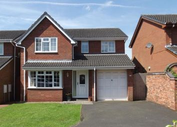 Thumbnail 4 bed detached house for sale in Spinney Close, Burntwood, Staffordshire