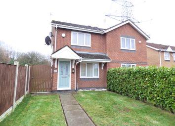 Thumbnail 2 bed semi-detached house for sale in Tetchill Close, Norton, Runcorn