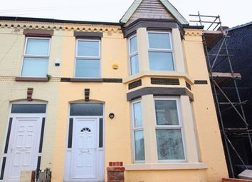 Thumbnail 3 bedroom terraced house for sale in Thornycroft Road, Wavertree, Liverpool