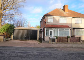 Thumbnail 3 bed semi-detached house for sale in Milner Road, Birmingham