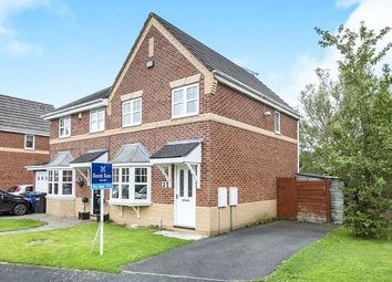 Thumbnail 3 bed semi-detached house for sale in Falcon Close, Leigh
