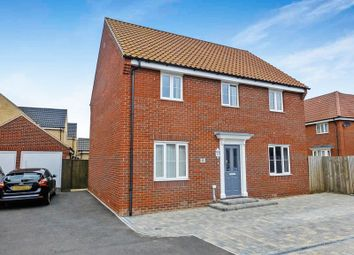 Thumbnail 4 bed detached house for sale in Purslane Drive, Caister-On-Sea, Great Yarmouth