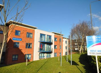 Thumbnail 2 bed flat to rent in Russell Aston Court, Civic Way, Swadlincote