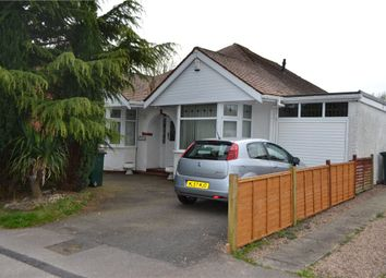 Thumbnail 3 bed detached bungalow for sale in Nailcote Avenue, Tile Hill, Coventry, West Midlands