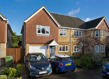 Thumbnail 4 bed semi-detached house to rent in Litchfield Gardens, Cobham