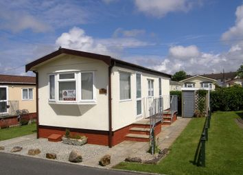 Thumbnail 1 bed mobile/park home for sale in Rosewarne Park, Higher Enys Road, Camborne