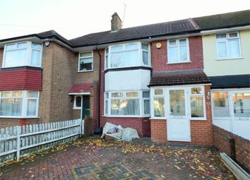 Thumbnail 4 bed terraced house to rent in Selborne Gardens, Perivale, Greenford, Greater London