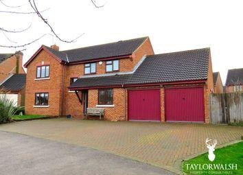 Thumbnail 4 bedroom detached house for sale in Eridge Green, Kents Hill, Milton Keynes