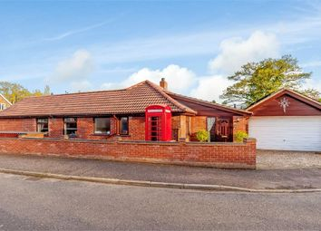 Thumbnail 4 bed detached bungalow for sale in Park Avenue, Barford, Norwich, Norfolk