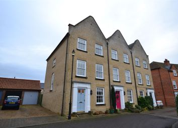 Thumbnail 3 bed town house to rent in Cardinals Way, Ely