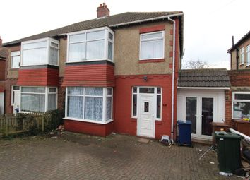 Thumbnail 3 bed semi-detached house for sale in Ilfracombe Avenue, Newcastle Upon Tyne