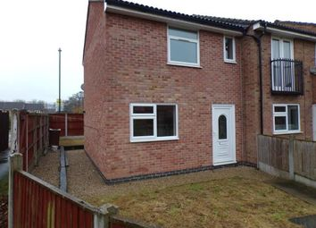 Thumbnail 2 bedroom end terrace house for sale in Mimosa Close, Barton Green, Nottingham