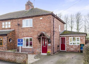 Thumbnail 3 bed semi-detached house for sale in Main Street, North Duffield, Selby