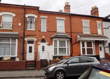 Thumbnail 3 bedroom terraced house for sale in Newton Road, Sparkhill, Birmingham