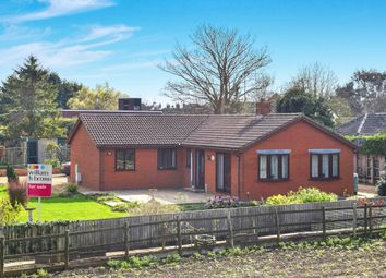 Thumbnail 3 bedroom detached bungalow for sale in West Bank, Crowland, Peterborough