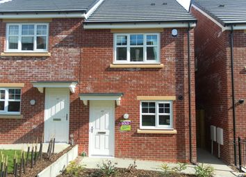 Thumbnail 2 bed semi-detached house to rent in East Terrace, Stoke-On-Trent ST6, Stoke-On-Trent,
