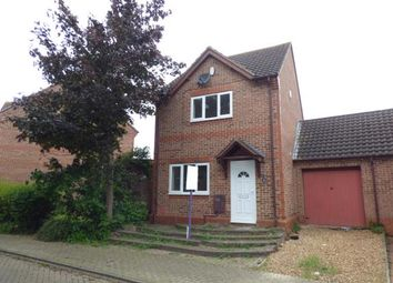 Thumbnail 3 bed detached house for sale in Lynmouth Crescent, Furzton, Milton Keynes, Buckinghamshire