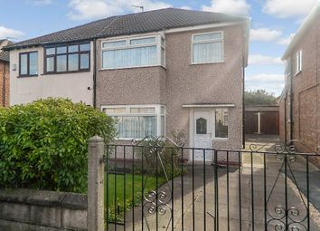 Thumbnail 3 bed semi-detached house for sale in Norbreck Avenue, Liverpool