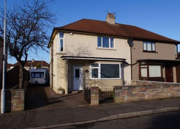 Thumbnail 4 bed semi-detached house for sale in Gilmour Avenue, Leven