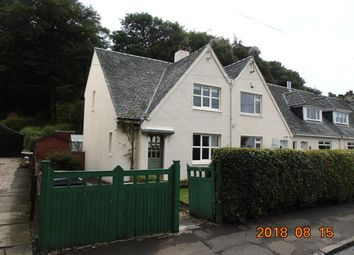 Thumbnail 3 bed semi-detached house to rent in Finlaystone Road, Kilmacolm
