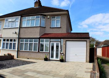 Thumbnail 3 bed semi-detached house for sale in Marina Drive, Welling
