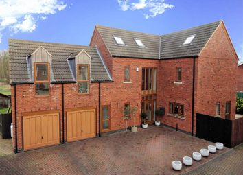 Thumbnail 5 bed detached house for sale in Hortonfield Drive, Washingborough, Lincoln