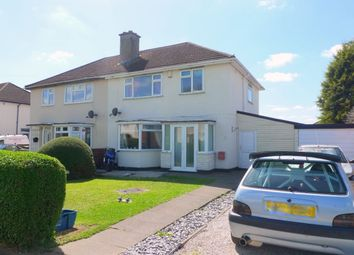 Thumbnail 3 bed semi-detached house for sale in Broughton Close, Stafford