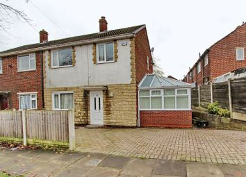 Thumbnail 3 bed semi-detached house for sale in Ripon Avenue, Whitefield, Manchester