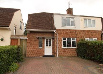 Thumbnail 3 bedroom semi-detached house for sale in Meadowcroft Road, Reading