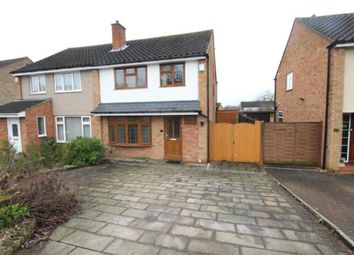 Thumbnail 3 bed property to rent in Mendip Crescent, Bedford
