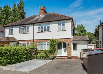 Thumbnail 3 bed semi-detached house for sale in Oakhill Close, Ashtead