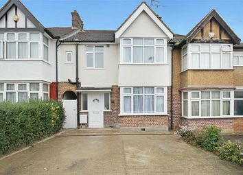 Thumbnail 3 bed terraced house to rent in Redhill Drive, Edgware