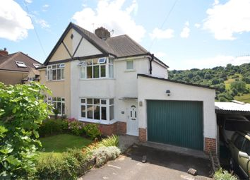Thumbnail 3 bed semi-detached house for sale in Bourne Lane, Brimscombe, Stroud, Gloucestershire
