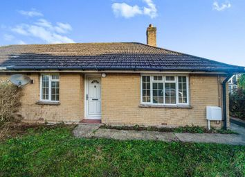 Thumbnail Semi-detached bungalow for sale in Lower Street, Okeford Fitzpaine, Blandford Forum