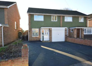 Thumbnail 3 bed semi-detached house for sale in Bridefield Crescent, Cowplain, Waterlooville