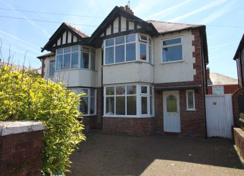 Thumbnail 3 bed semi-detached house to rent in Waverley Ave, Blackpool