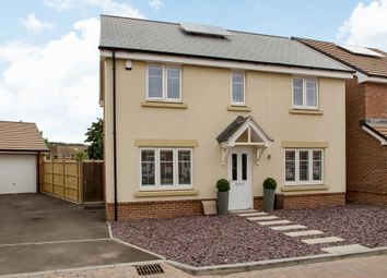 Thumbnail 4 bed detached house for sale in Beach Drive, Shorehaven, Cosham, Portsmouth