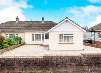 Thumbnail 3 bed semi-detached bungalow for sale in Glanbran Road, Birchgrove, Swansea