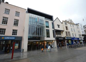 Thumbnail 1 bed flat to rent in High Street, Exeter, Devon