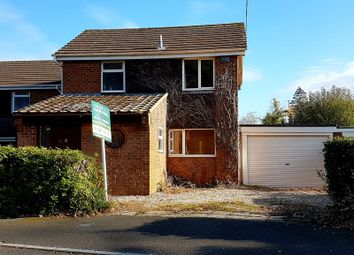 Thumbnail 3 bed detached house for sale in Sedgebrook, Swindon