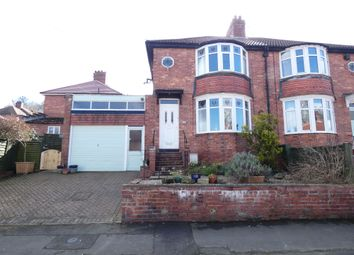 Thumbnail 2 bedroom semi-detached house for sale in Bywell Avenue, Hexham